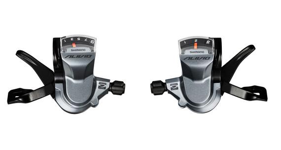 Shimano Alivio SL-M4000 shifter 3x9-speed grijs